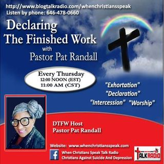"""GOD IN A BOX"" PART 3 REPLAY on Declaring the Finished Work with Pastor Pat"