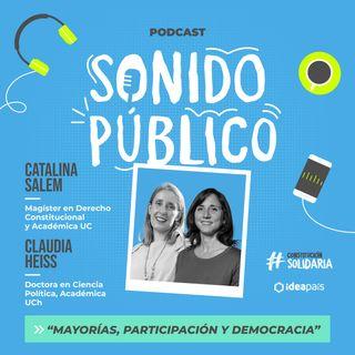 """Claudia Heiss y Catalina Salem en """"Mayorías, participación y democracia"""""""