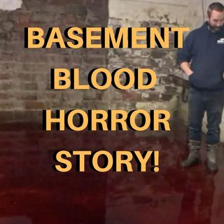 Basement Flooded With Animal Blood
