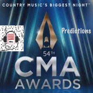 Episode 57 - CMA Awards 2020 Predictions