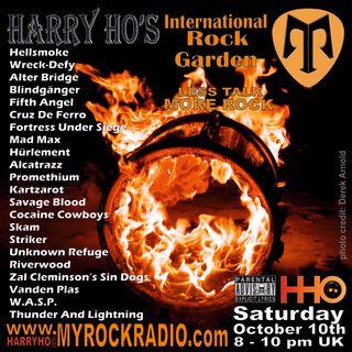 Harry Ho's intern. Rock Garden 10.10.2020
