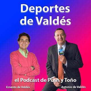 EP 8 Podcast Deportes de Valdés con Toño y Push platica con Yon de Luisa Pdte de FEMEXFUT