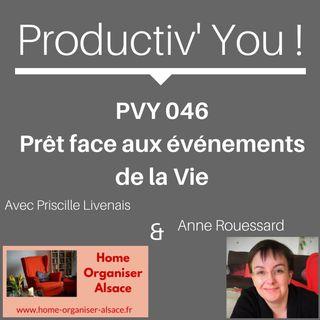 PVY 046 PRET FACE AUX EVENEMENTS DE LA VIE
