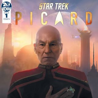 Source Material #274 - Star Trek: Picard Countdown (IDW, 2019)
