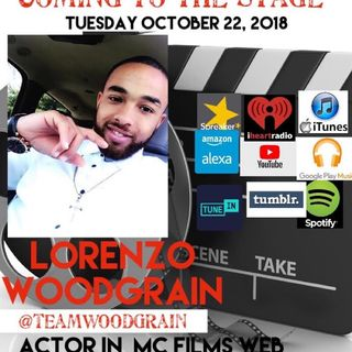 COMING TO THE STAGE: ACTOR LORENZO WOODGRAIN