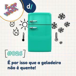 É Por Isso! #26 - É Por Isso que a geladeira não é quente!