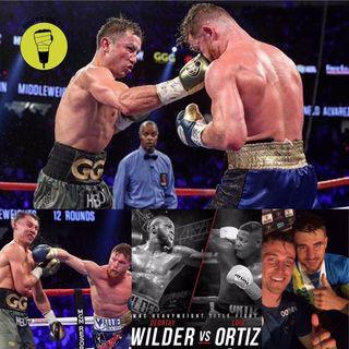 Canelo v Golovkin review!!! Wilder v Ortiz!!