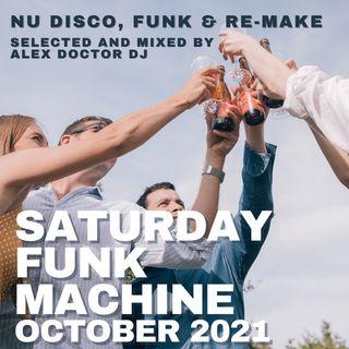 #169 - Saturday Funk Machine - October 2021