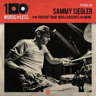 Sammy Siegler from World Be Free, Youth of Today, Gorilla Biscuits, Glassjaw etc…