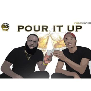 LONGTIME ROOMMATES SURVIVE A GAME OF POUR IT UP