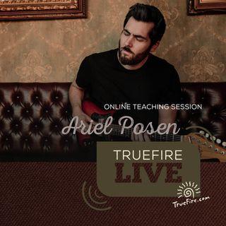 Ariel Posen - Electric Storyteller Guitar Lessons, Performance, & Interview