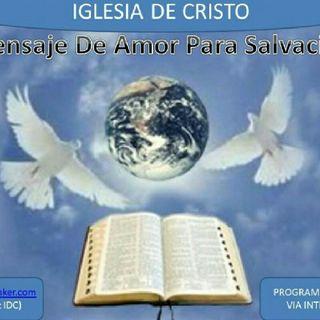 Mensaje de Amor Para Salvación