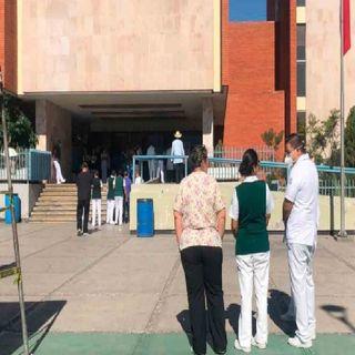 Reportan ocupación hospitalaria de 35 por ciento