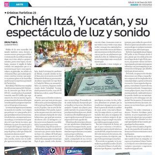 Chichén Itzá, Yucatán y su espectáculo natural de luz y sonido.