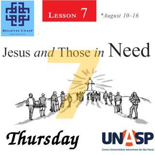 Sabbath School Aug-15 Thursday