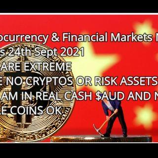 Crypto & Financial markets news & stats 7th sept 2021