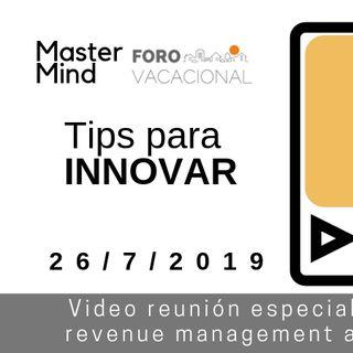 Cómo Innovar   Videoreunión de 25 julio 2019
