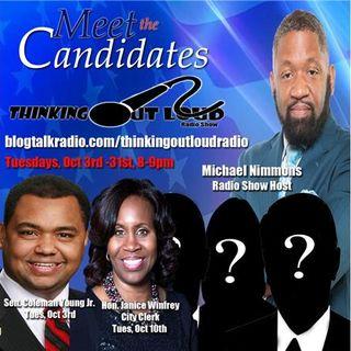 Meet The Candidates featuring Detroit City Clerk Janice Winfrey