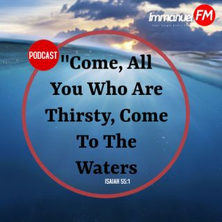 Come To The Water    Podcast    Tamil christian message    Immanuelfm