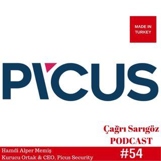 #54 Alper Memiş - Kurucu Ortak ve CEO, Picus Security   Made In Turkey #45