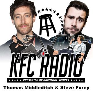Thomas Middleditch, Steve Furey, and Feits Is Literally Carrying Around Garbage