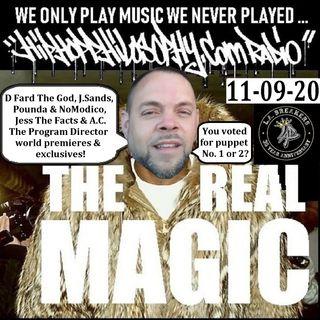 HipHopPhilosophy.com Radio - 11-09-20 - Monday Night Fresh