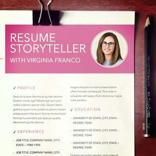 Resume Storyteller with Virginia Franco