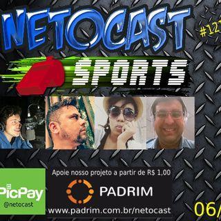 NETOCAST 1215 DE 06/11/2019 - ESPORTES - F1 - FUTEBOL - FUTEBOL FEMININO - RUGBY - NFL - NBA