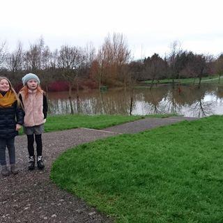 Flooded walkway #audiolog #Clonmel