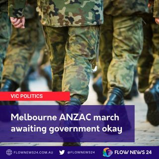 Why the delay on ANZAC Day in #Melbourne?