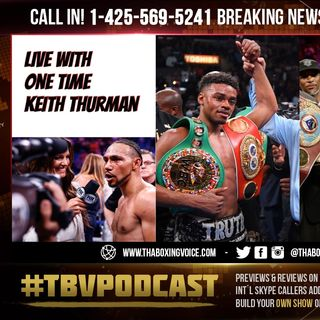 "☎️Keith Thurman Live🔥 Reacts to Crawford Telling Spence ""Take off The Panties""😱"