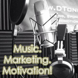 Music. Marketing. Motivation! 012 Celebrating 10,000 orders on Fiverr