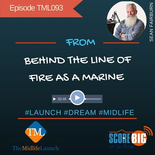 Former Marine Shares From Behind The Scenes | Sean Fairburn | Episode TML093