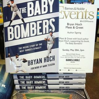 "Books on Sports: Author Bryan Hoch talks about his new book ""The Baby Bombers: The inside story of the next Yankees dynasty"""