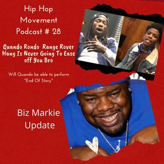 Episode 28 - Quando Ronda Von's Uncle says no more Show's for U, Biz Markie Update