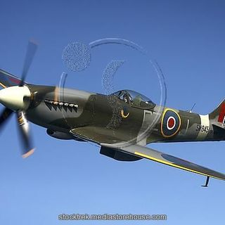 Supermarine Spitfire Mk MFQS MASTERPIECE