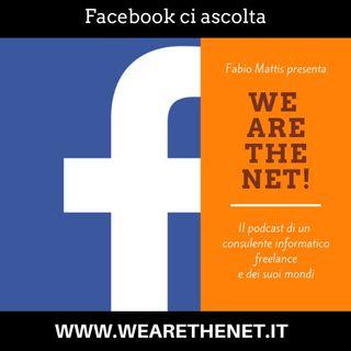 Facebook ci ascolta