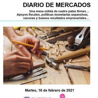 DIARIO DE MERCADOS Martes 16 Febrero