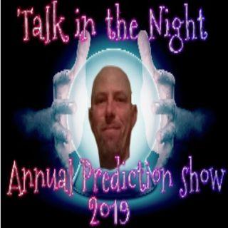 Annual Prediction show Dec. 28th 2018
