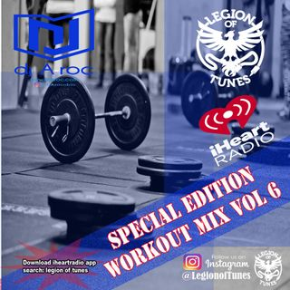 DJ A-roc Workout Mix Vol 6  60min for cardio, training and dancing