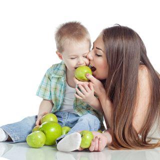 Mangiar bene fin da bambini