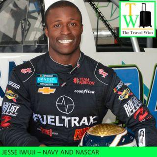 Jesse Iwuji - Navy and NASCAR