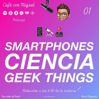 Cafe con Miguel - Noticias - Mejores móviles de gama alta, nuevo material con imanes liquidos, ¿Area 51? No hay extraterrestres - Pencil