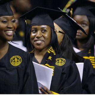 Black women earning Degrees