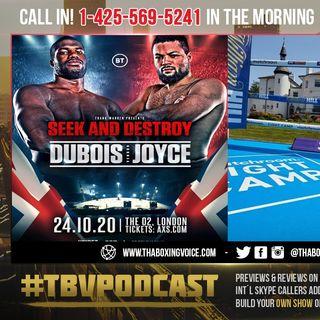 ☎️Dubois vs Joyce Heavyweight Showdown Rescheduled to Oct. 24🔥Whyte vs Povetkin in Matchroom HQ❗️
