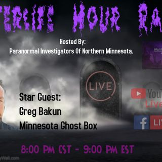 Interview With Greg Bakun fromMNGhostBox