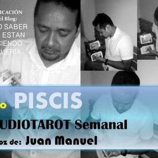 TAROT gratis PISCIS Audiotarot semanal tercera semana de ABRIL
