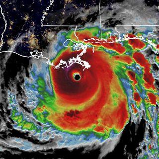 Hurricane Ida Hits Louisiana