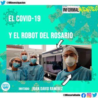 El COVID-19 y el robot del Rosario