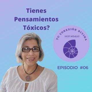 Cómo eliminar pensamientos tóxicos?